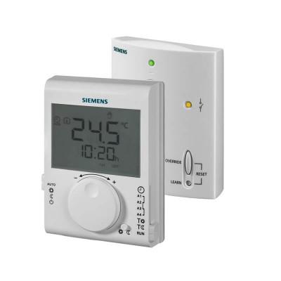 Poza Cronotermostat digital programabil fara fir Siemens RDJ100RF Set. Poza 15136