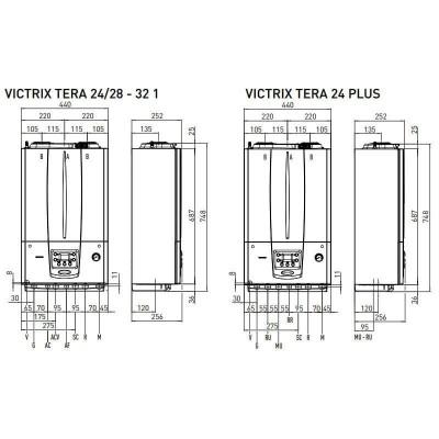 Poza Centrala termica Immergas Victrix Tera 32 1 Erp 32 kw. Poza 14848