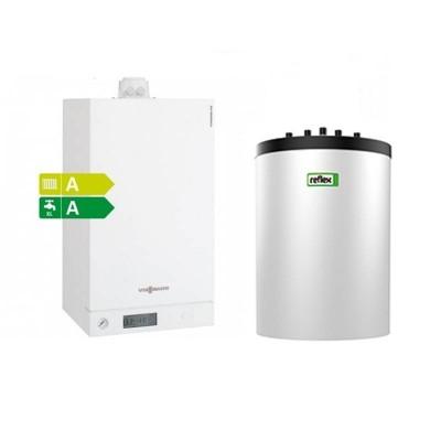 Poza Pachet centrala termica Viessmann Vitodens 100-W 26 kW cu boiler monovalent Reflex 120 litri. Poza 15569