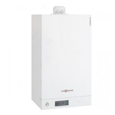 Poza Centrala termica in condensare cu touchscreen Viessmann Vitodens 100-W 26 kw combi B1KC156. Poza 15585