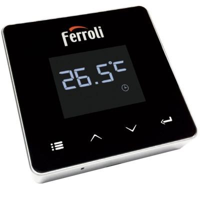 Poza Cronotermostat de ambient cu radio frecventa Ferroli Connect WI-FI. Poza 16240