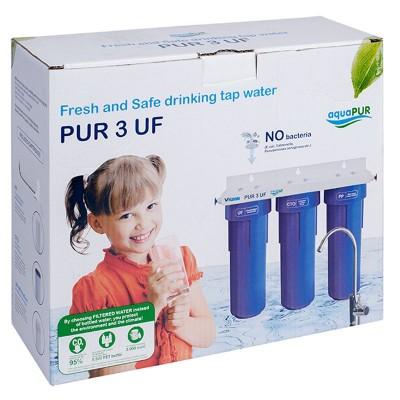 Poza Filtru apa potabila in 3 trepte cu ultrafiltrare Valrom PUR 3 UF. Poza 16580