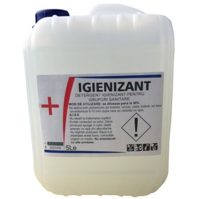 Poza Detergent igienizant AXXI - bidon 10 litri. Poza 16665