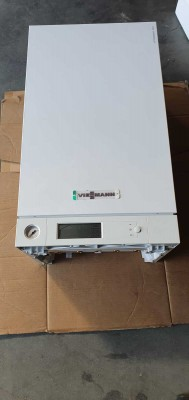 Poza Centrala termica in condensare cu touchscreen Viessmann Vitodens 100-W 35 kw combi B1KC157 resigilat. Poza 17009