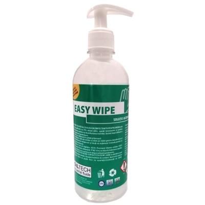 Poza Solutie gel dezinfectanta pentru maini Easy Wipe 500 ml cu pompita. Poza 17062