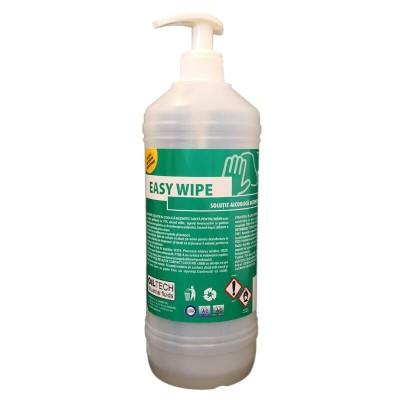 Poza Solutie gel dezinfectanta pentru maini Easy Wipe 1000 ml cu pompita. Poza 17065