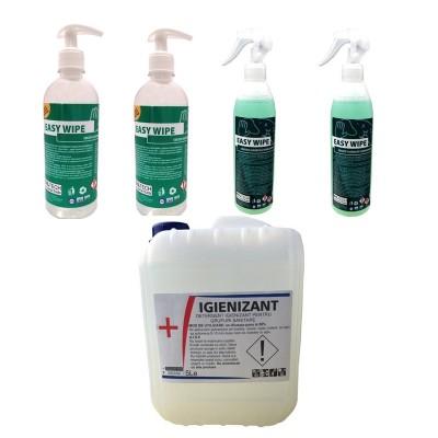 Poza Pachet solutii dezinfectante pentru frizerii. Poza 17070