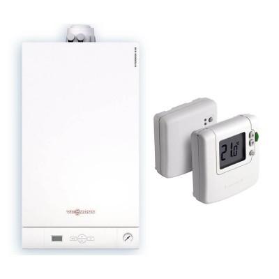 Poza Centrala termica in condensatie Viessmann Vitodens 050 W 33 kW cu termostat fara fir Honeywell DT92A. Poza 17112