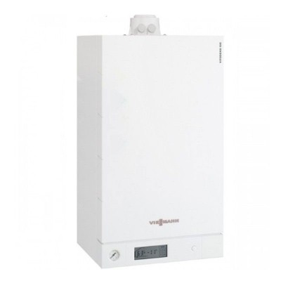 Poza Centrala termica in condensare cu touchscreen Viessmann Vitodens 100-W 35 kw B1HC179 numai incalzire. Poza 15592