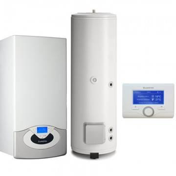 Poza Pachet centrala termica in condensare Ariston Genus Premium System Evo 35 EU 35 kw cu boiler BC1S 300 litri