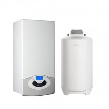 Poza Pachet centrala termica in condensare Ariston Genus Premium System Evo 35 EU 35 kw cu boiler BCH 200 litri