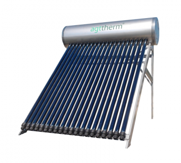 poza Panou solar presurizat cu boiler 300 litri Agttherm SPTV300