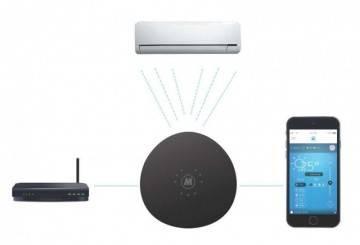 Poza Functionare termostat wi-fipentru aer conditionat Melissa