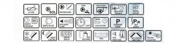 Poza Caracteristici  controller Salus PCSol200 Classic