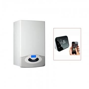 poza Pachet Centrala in condensare Ariston Genus Premium Evo 24 EU + Cronotermostat control internet Salus IT500
