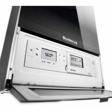 Poza Panou de comanda centrala termica in condensatie Buderus Logamax Plus GB 172i System - 42 kW negru