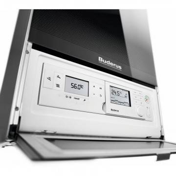 Poza Display centrala termica in condensatie Buderus Logamax Plus GB 172 IK - 35 kW negru
