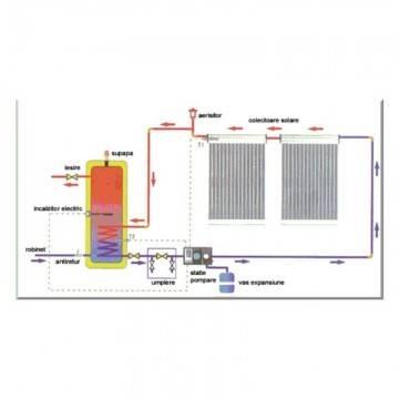 Poza Schema rezervor apa calda ELBI SAC