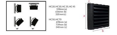 Poza Aeroterma pe apa Reventon HC35-3S. Poza 7239