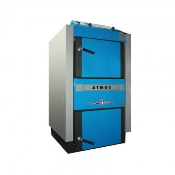 Poza Centrala termica pe combustibil solid ATMOS C50S 48 kW