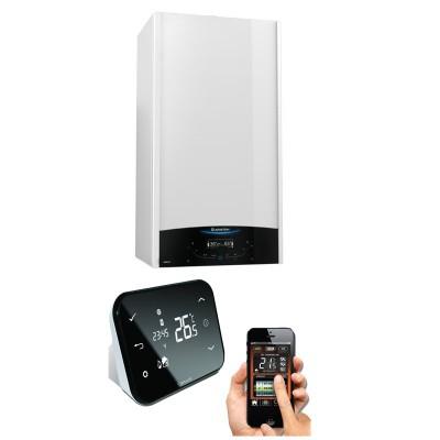 Poza Centrala termica in condensare cu termostat Wi-Fi IT500 Ariston Genus One 24 EU 24 kW. Poza 7963