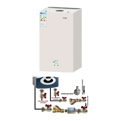 Poza Centrala termica cu condensatie cu pachet instalare Motan Green 24. Poza 8492